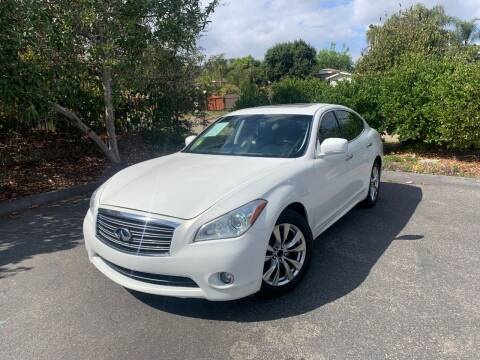 2012 Infiniti M37 for sale at North Coast Auto Group in Fallbrook CA