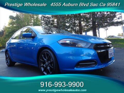 2016 Dodge Dart for sale at Prestige Wholesale in Sacramento CA