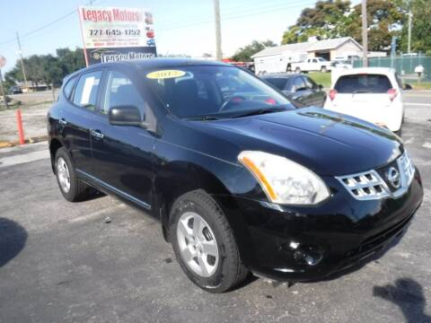 2012 Nissan Rogue for sale at LEGACY MOTORS INC in New Port Richey FL