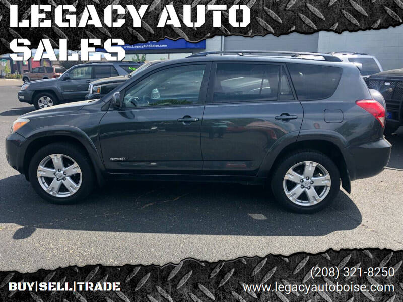 2007 Toyota RAV4 for sale at LEGACY AUTO SALES in Boise ID