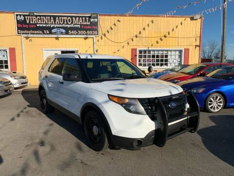 2013 Ford Explorer for sale at Virginia Auto Mall in Woodford VA