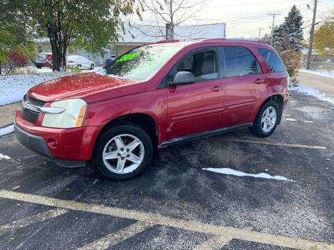 2005 Chevrolet Equinox for sale at Peak Motors in Loves Park IL