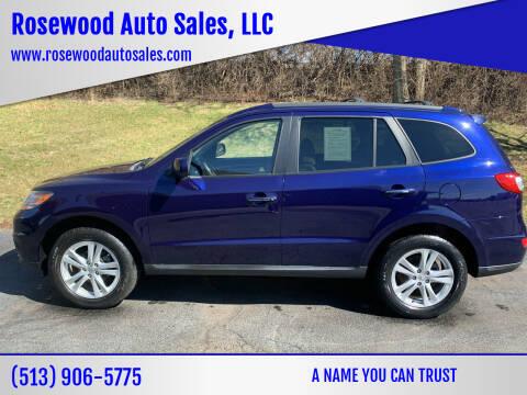 2010 Hyundai Santa Fe for sale at Rosewood Auto Sales, LLC in Hamilton OH