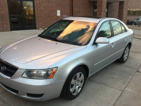 2008 Hyundai Sonata for sale at STATEWIDE AUTOMOTIVE LLC in Englewood CO