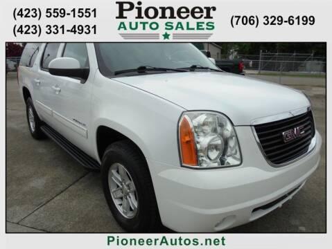 2011 GMC Yukon XL for sale at PIONEER AUTO SALES LLC in Cleveland TN