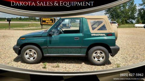 1997 GEO Tracker for sale at Dakota Sales & Equipment in Arlington SD