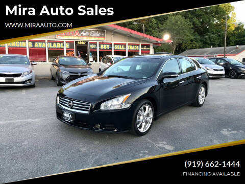 2014 Nissan Maxima for sale at Mira Auto Sales in Raleigh NC