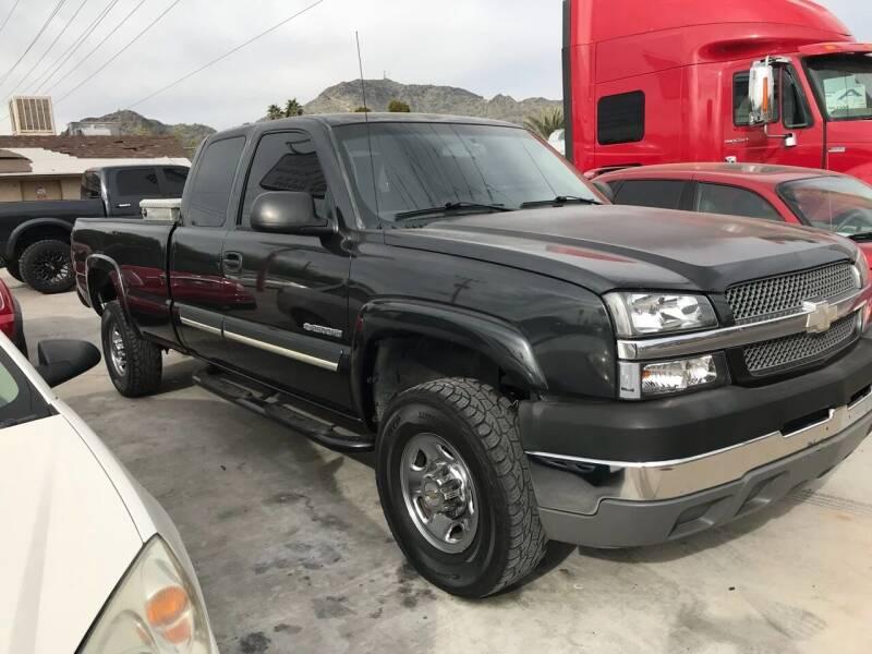 2004 Chevrolet Silverado 2500HD for sale at North Auto Sales in Phoenix AZ