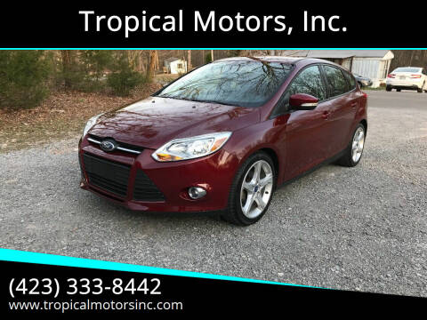 2013 Ford Focus for sale at Tropical Motors, Inc. in Riceville TN