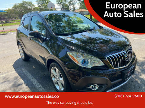 2015 Buick Encore for sale at European Auto Sales in Bridgeview IL