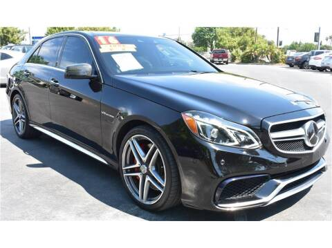 2016 Mercedes-Benz E-Class for sale at ATWATER AUTO WORLD in Atwater CA