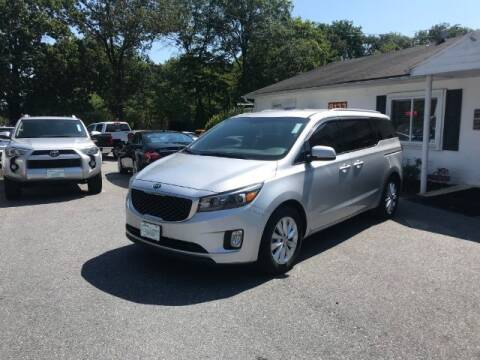 2015 Kia Sedona for sale at Sports & Imports in Pasadena MD