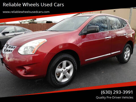 2012 Nissan Rogue for sale at Reliable Wheels Used Cars in West Chicago IL