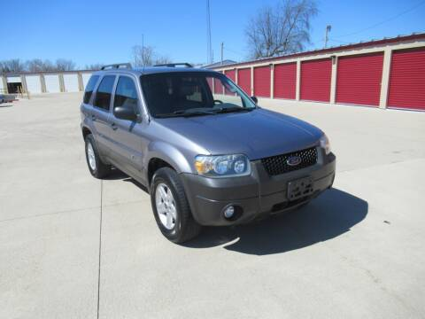 2007 Ford Escape Hybrid for sale at Perfection Auto Detailing & Wheels in Bloomington IL
