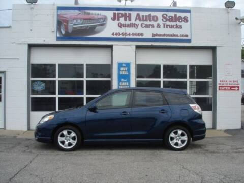 2006 Toyota Matrix for sale at JPH Auto Sales in Eastlake OH