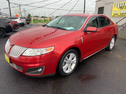 2010 Lincoln MKS for sale at Rock Motors LLC in Victoria TX