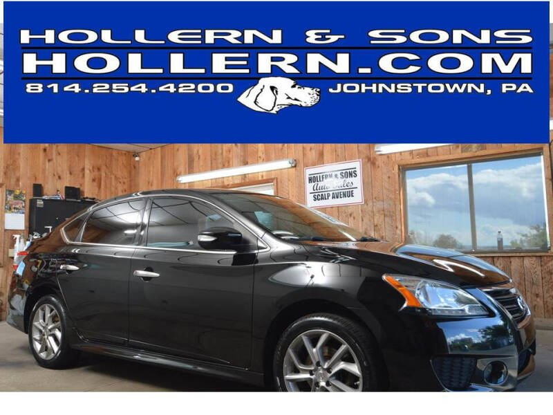 2015 Nissan Sentra for sale at Hollern & Sons Auto Sales in Johnstown PA