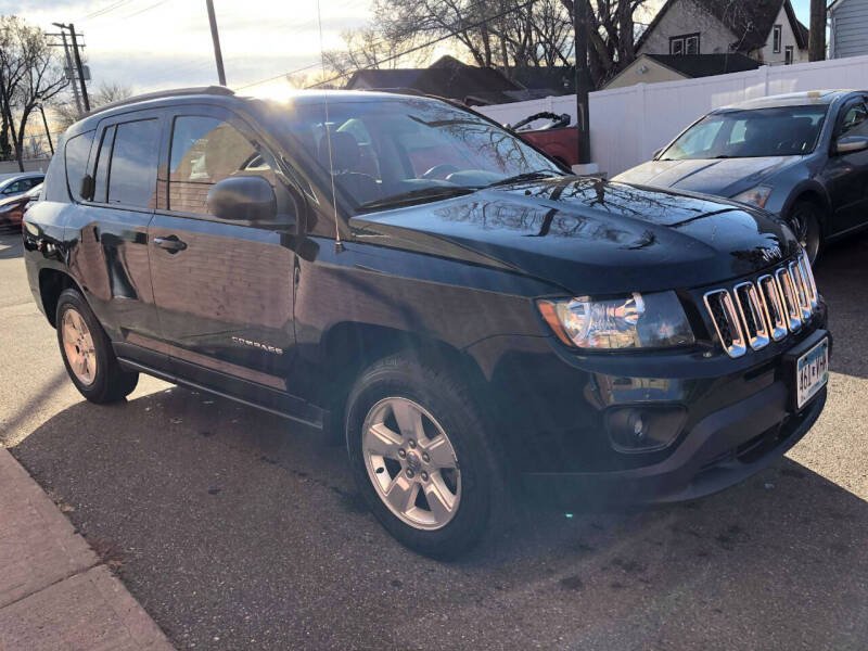2015 Jeep Compass for sale at Nice Cars Auto Inc in Minneapolis MN
