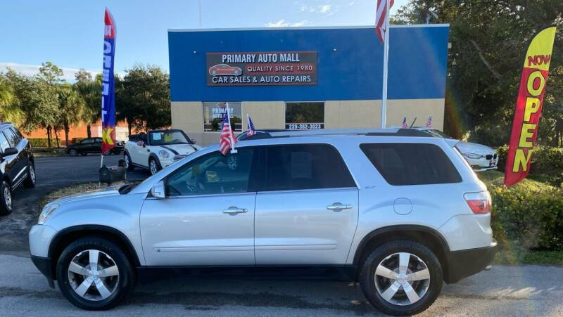 2010 GMC Acadia for sale at Primary Motors Inc - Primary Auto Mall in Fort Myers FL