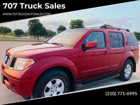 2006 Nissan Pathfinder for sale at 707 Truck Sales in San Antonio TX