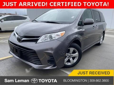 2019 Toyota Sienna for sale at Sam Leman Toyota Bloomington in Bloomington IL