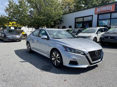 2021 Nissan Altima for sale at Autohaus of Greensboro in Greensboro NC