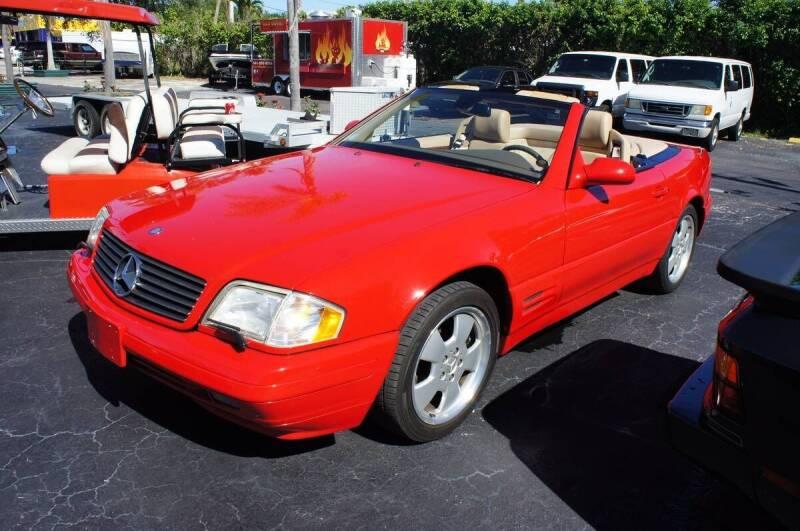 1999 Mercedes-Benz SL-Class for sale at American Classics Autotrader LLC in Pompano Beach FL