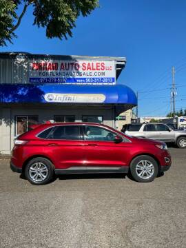 2015 Ford Edge for sale at PORTLAND AUTO SALES LLC. in Portland OR