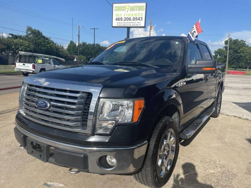 2010 Ford F-150 for sale at Shock Motors in Garland TX