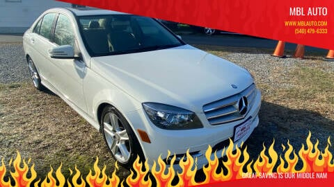 2011 Mercedes-Benz C-Class for sale at MBL Auto Woodford in Woodford VA