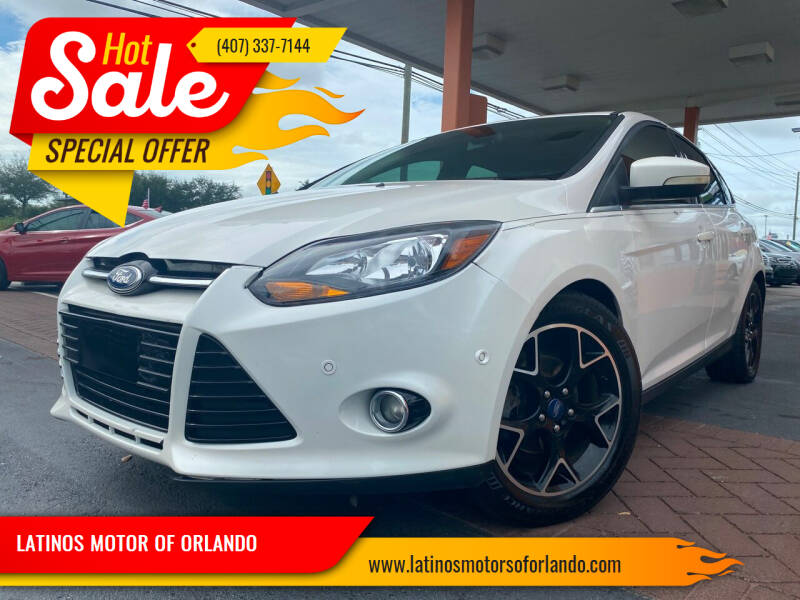 2012 Ford Focus for sale at LATINOS MOTOR OF ORLANDO in Orlando FL