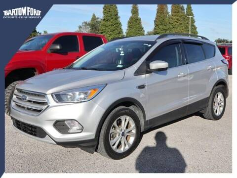 2018 Ford Escape for sale at BARTOW FORD CO. in Bartow FL