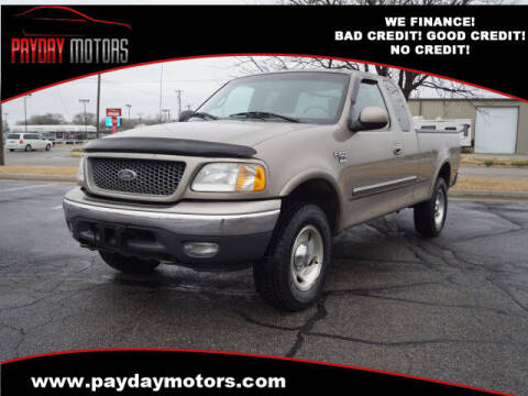 2001 Ford F-150 for sale at Payday Motors in Wichita And Topeka KS