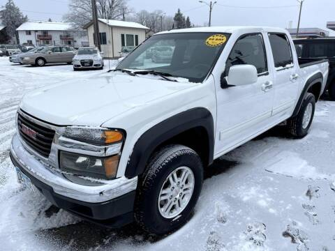2012 GMC Canyon for sale at CHRISTIAN AUTO SALES in Anoka MN