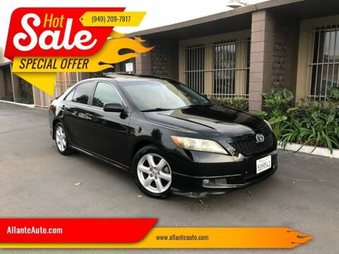 2007 Toyota Camry for sale at AllanteAuto.com in Santa Ana CA