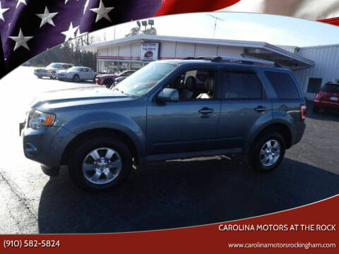 2012 Ford Escape for sale at Carolina Motors at the Rock in Rockingham NC