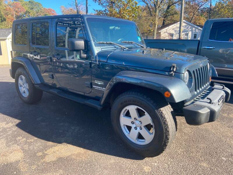 2007 Jeep Wrangler Unlimited for sale at Jimmy Jims Auto Sales in Tabernacle NJ