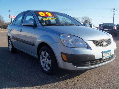 2009 Kia Rio for sale at Country Side Car Sales in Elk River MN