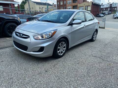 2013 Hyundai Accent for sale at MG Auto Sales in Pittsburgh PA