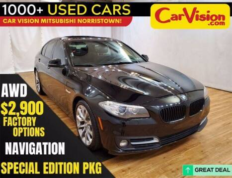 2016 BMW 5 Series for sale at Car Vision Buying Center in Norristown PA