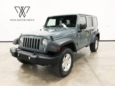 2014 Jeep Wrangler Unlimited for sale at Wida Motor Group in Bolingbrook IL