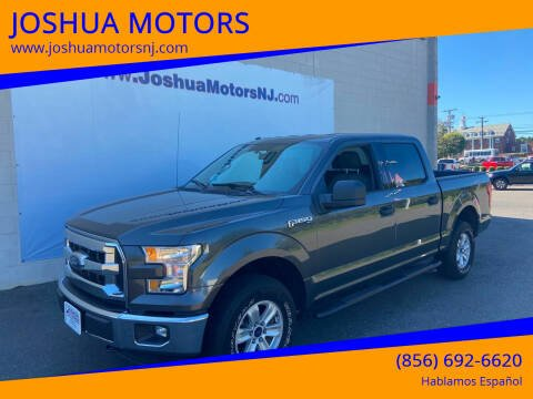 2016 Ford F-150 for sale at JOSHUA MOTORS in Vineland NJ