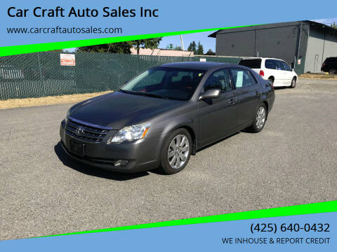 2007 Toyota Avalon for sale at Car Craft Auto Sales Inc in Lynnwood WA