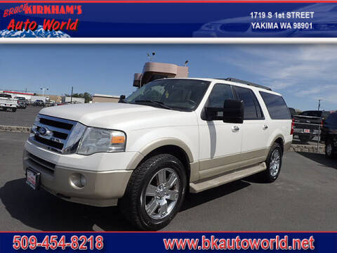 2010 Ford Expedition EL for sale at Bruce Kirkham Auto World in Yakima WA