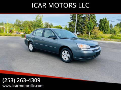 2005 Chevrolet Malibu for sale at ICAR MOTORS LLC in Federal Way WA