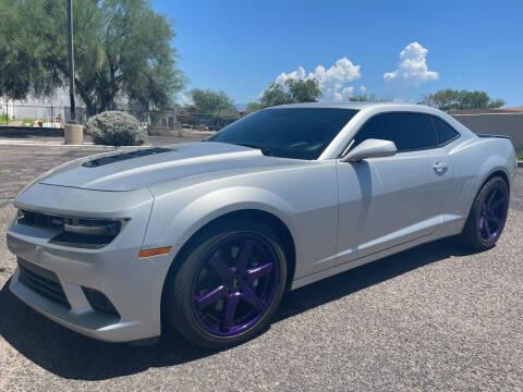 2014 Chevrolet Camaro for sale at Tucson Auto Sales in Tucson AZ