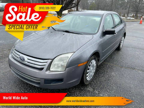 2007 Ford Fusion for sale at World Wide Auto in Fayetteville NC