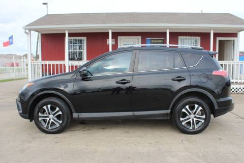 2017 Toyota RAV4 for sale at AMT AUTO SALES LLC in Houston TX