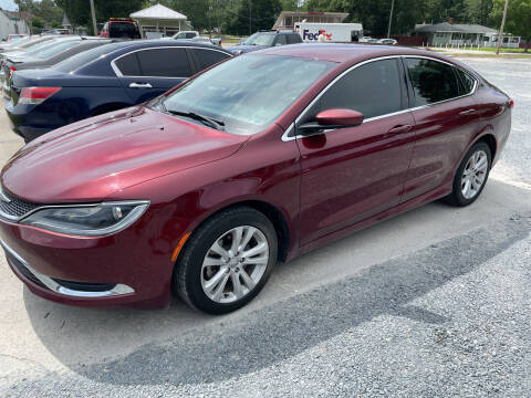 2017 Chrysler 200 for sale at LAURINBURG AUTO SALES in Laurinburg NC