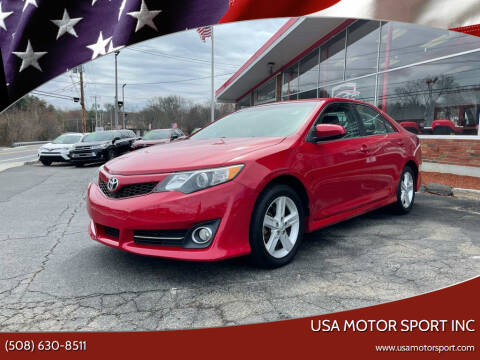 2014 Toyota Camry for sale at USA Motor Sport inc in Marlborough MA